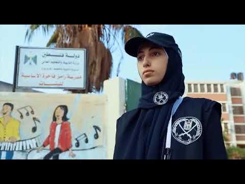 بالفيديو إجراءات الشرطة الفلسطينية في تأمين اختبارات الثانوية العامة لعام 2021