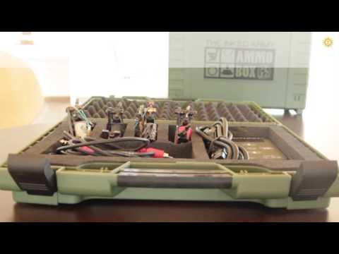 THE INKED ARMY - AMMO BOX (Box / Transportbox / Transportation Box)