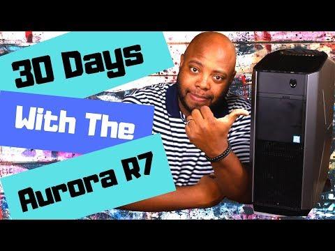 DELL PC Gamer Alienware Aurora R7 - Core i7-8700 - RAM 16Go - Stockage 1To HDD