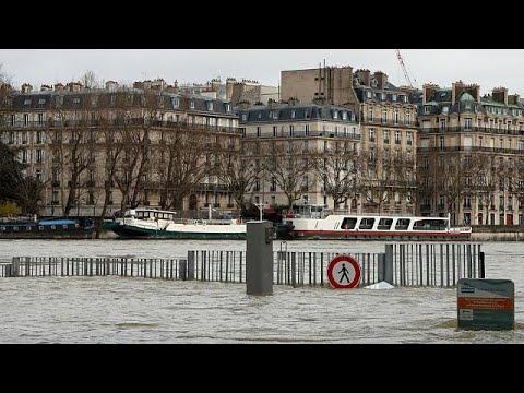 Παρίσι: Νέα αύξηση της στάθμης του Σηκουάνα
