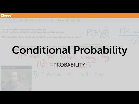 Definition of conditional probability chegg fandeluxe Image collections