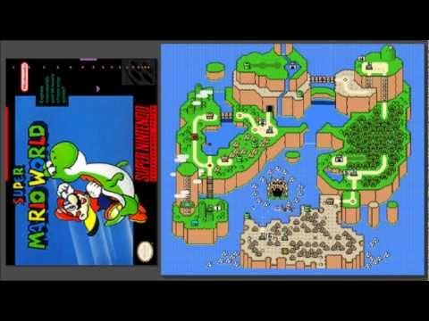 Super Mario World [OST] Swimming BGM (Yoshi)