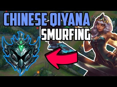Chinese Qiyana Smurfing in Platinium - (How To Play The Fizz Matchup)