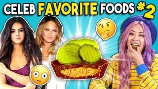 Video Trying Celebrity Favorite Foods | People Vs. Food MP3, 3GP, MP4, WEBM, AVI, FLV Agustus 2019