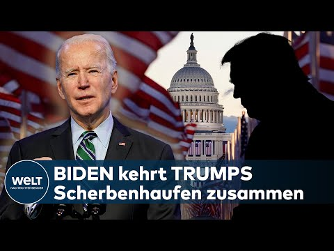 USA: MERKEL lädt BIDEN nach Deutschland ein - TRUMP wird angeklagt