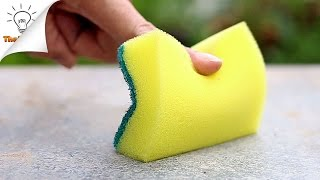 15 Sponge Life Hacks That You've Never Thought of Before.  Learn how to use sponges in various ways.