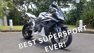 10. 2007 Honda CBR600RR Review! Best Supersports Ever?