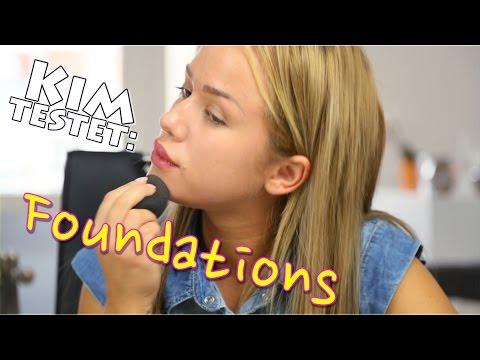 KIM TESTET: FOUNDATIONS | KIM GLOSS