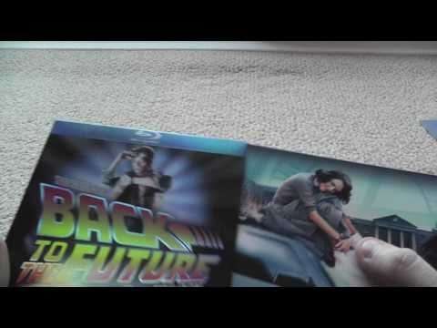 Back To The Future Trilogy Blu Ray Limited Collectors Tin