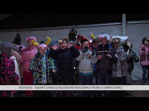 TVS: Bojkovice - Rozsvícení vánočního stromu