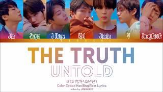Video BTS - The Truth Untold (Feat. Steve Aoki) (Color Coded Lyrics Eng/Rom/Han) MP3, 3GP, MP4, WEBM, AVI, FLV Juni 2018