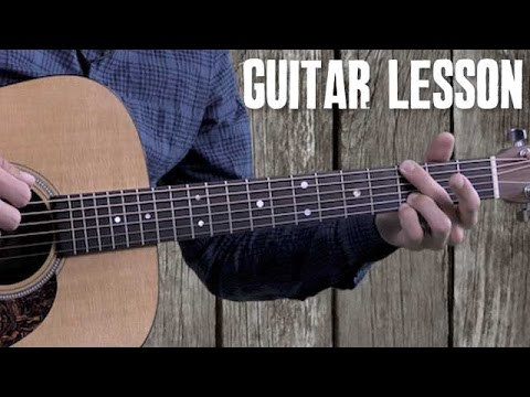 Bluegrass Rhythm Guitar – Beginner Guitar Lesson – Foggy Mountain Rock – Strumming and Walk-Ups