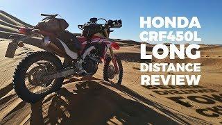 6. Honda CRF450L proper long distance review