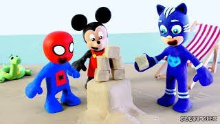 Video Superhero Baby Cartoon Sand Art with Friends! Play doh Stop Motion Animations for Kids MP3, 3GP, MP4, WEBM, AVI, FLV September 2018