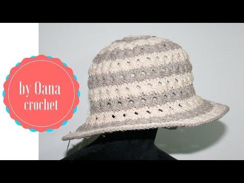 Cappello estate   all'uncinetto by Oana