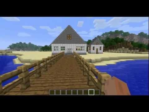 Мои дома в minecraft: дом на берегу моря