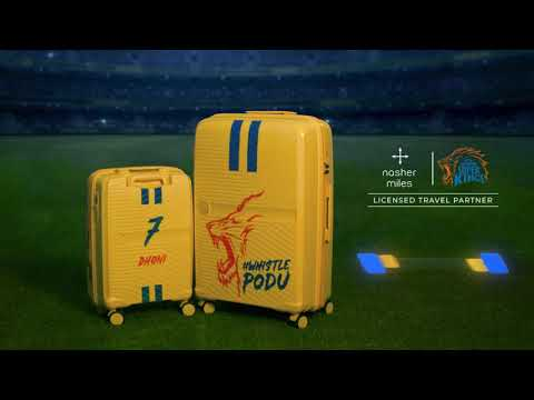 Nasher Miles Chennai Super Kings Customized Bags