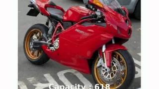 7. Ducati 999 -  Specs Top Speed