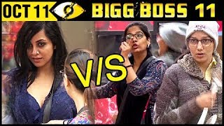 Video Sapna Choudhary & Mehjabi Vs Arshi Khan | MAJOR FIGHT | Bigg Boss 11 October 11th 2017 | Day 10 MP3, 3GP, MP4, WEBM, AVI, FLV Oktober 2017
