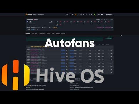 Автофан в Hive OS