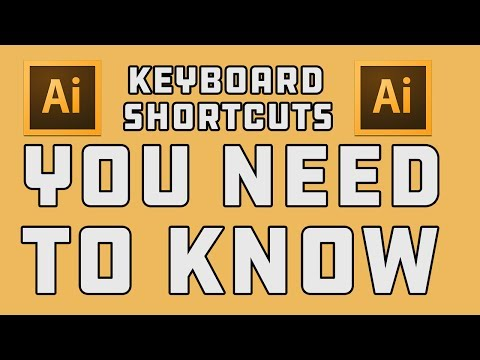 Adobe Illustrator Keyboard Shortcuts You Should Know!