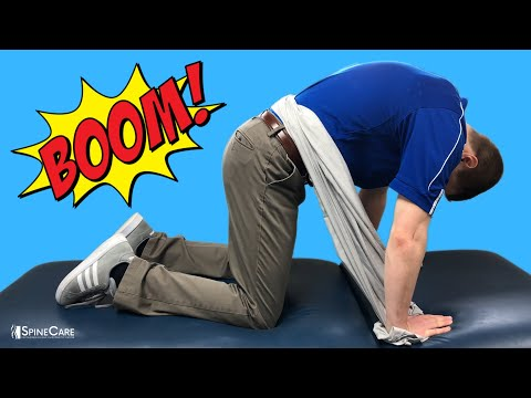 Fix Lower Back Pain With a Towel