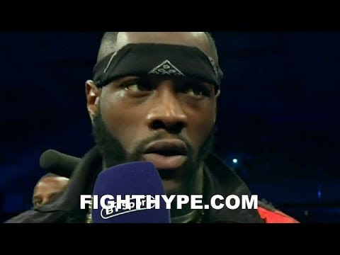 DEONTAY WILDER REACTS TO TYSON FURY'S WIN OVER PIANETA; REVEALS WHAT SURPRISED HIM