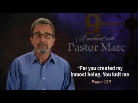 "A Moment with Pastor Marc #25<br /><strong>""Self Esteem""</strong>"
