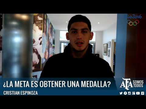 """""""La meta es obtener una medalla"""""""