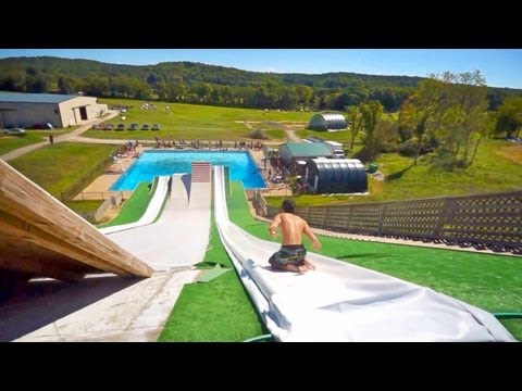 Slip N Slide Pool