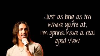 Jake Owen   Anywhere With You Lyric Video)