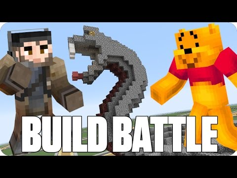 ¡SERPIENTE VENENOSA! BUILD BATTLE | Minecraft con Luh