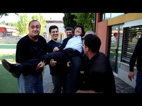 Paolo Pelliccioli trionfa a Mozzo, il lancio in aria