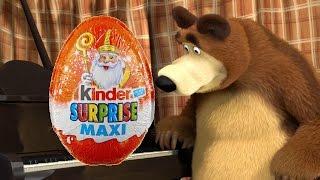 Angry Birds Маша и Медведь Masha i Medved masha and the bear Surprise Egg Kinder Surprise