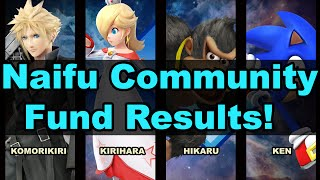 Naifu Community Fund Results – Komorikiri, Kirihara, Hikaru and KEN confirmed for EVO 2016