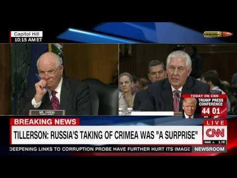 Кандидат на пост Госсекретаря США: Россия силой взяла Крым. Русский перевод. (видео)