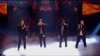 The Risk are nervous about Rock Week - The X Factor 2011 Live Show 3 (Full Version)