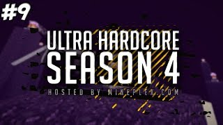 Minecraft: Ultra Hardcore (UHC) - Season 4 - Episode 9 - BACK TO THE NETHER!
