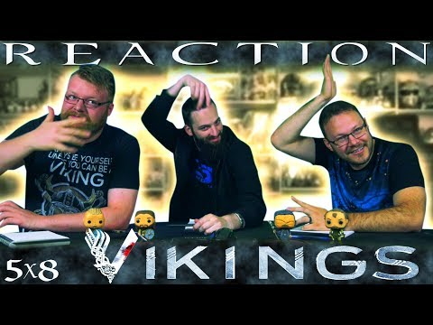 "Vikings 5x8 REACTION!! ""The Joke"""