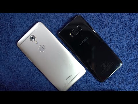 Samsung S8 vs Gionee A1 Speed test and Memory Management test