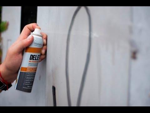 DELETA - Removedor de tintas e pichação - Crystalcor Performance