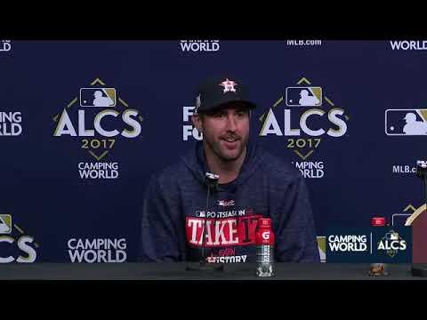 Justin Verlander Postgame Interview | Astros vs Yankees Game 6 ALCS