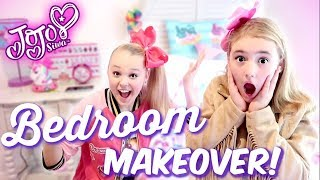 Video JoJo Siwa Dream Bedroom Makeover - Birthday Surprise! MP3, 3GP, MP4, WEBM, AVI, FLV Juli 2019