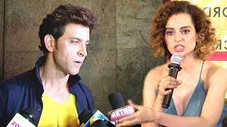 Video ANGRY Hrithik Roshan Walks Away From Interview When Reporter Asks About Kangana Ranaut's INSULT MP3, 3GP, MP4, WEBM, AVI, FLV Oktober 2017