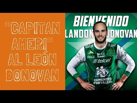 Landon Donovan sale del retiro para jugar con León