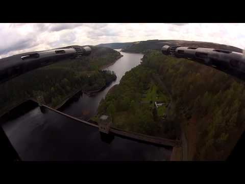 raf - Footage from onboard the RAF Memorial Flight Lancaster as it flys over the Derwent Dam, Derbyshire to mark the 70th Anniversary of the famous WWII Dambusters...