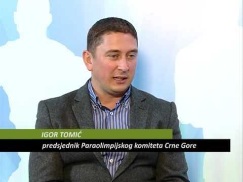 Igor Tomić, Paraolimpijski komitet Crne Gore