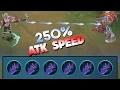 Mobile Legends Miya 250 Atk Speed