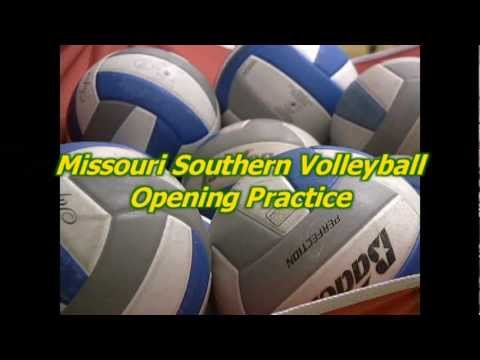 2012 Missouri Southern Volleyball Opening Day