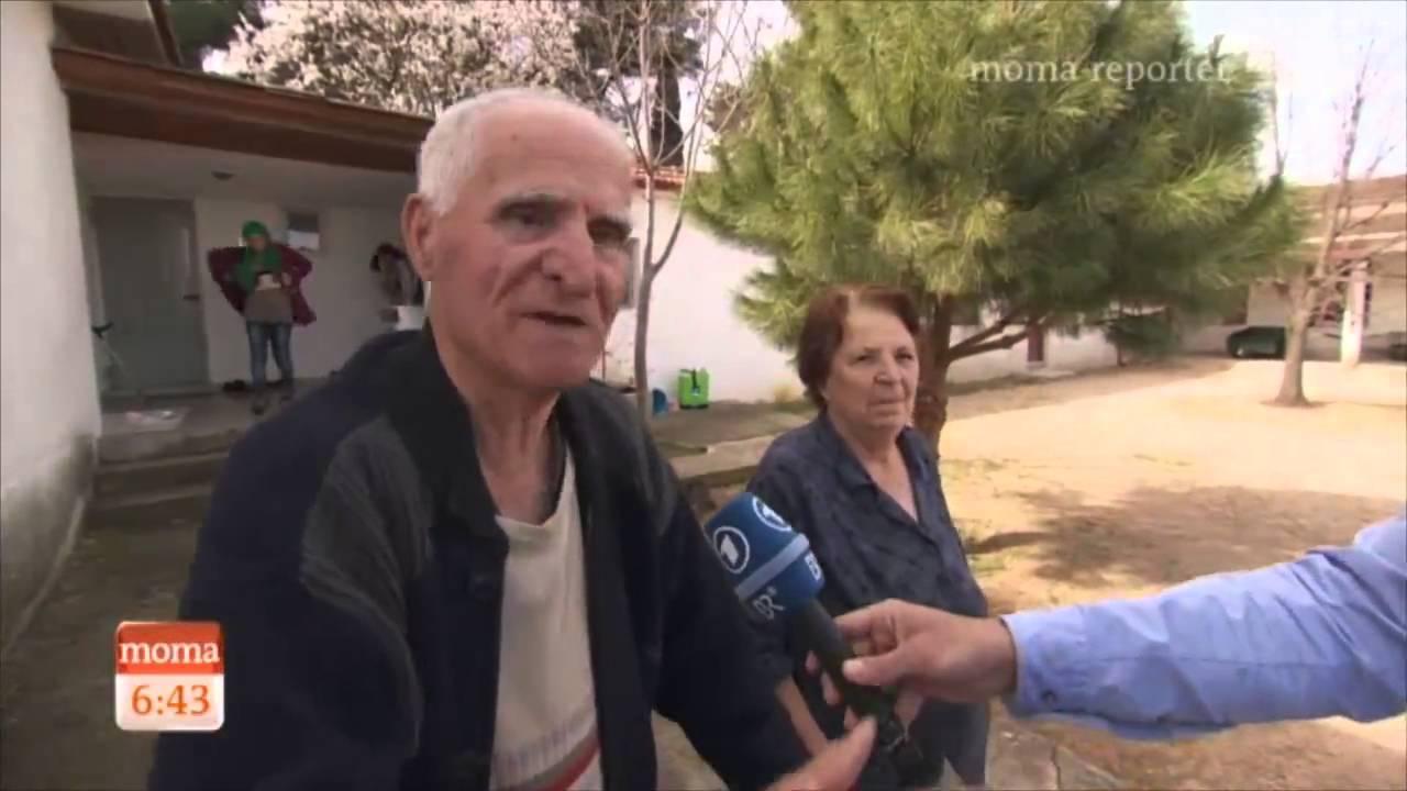 ΕΙδομένη: Ζευγάρι ηλικιωμένων ανοίγει το σπίτι του στους πρόσφυγες